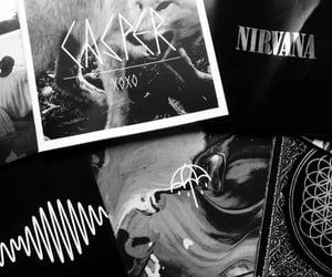 black, Lyrics, and nirvana image