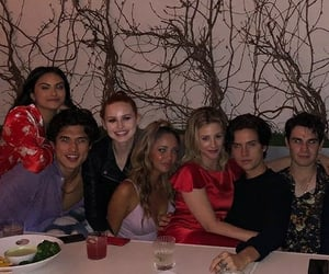 cast, bughead, and cole image