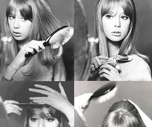 1960s, hairstyle, and 60s image