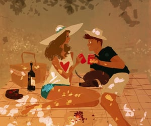 love, art, and pascal campion image