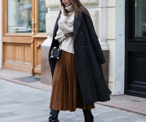 bag, coat, and outfit image