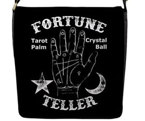 crystal ball, palmistry, and fortune teller image