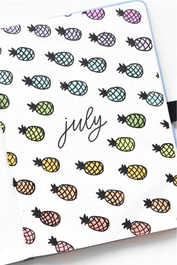 bullet journal, bujo ideas, and bullet journal cover image