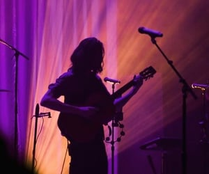 guitar, silhouette, and hozier image