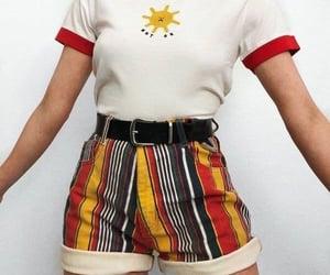 belt, print, and stripes image