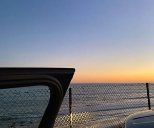 car, dua lipa, and ocean image