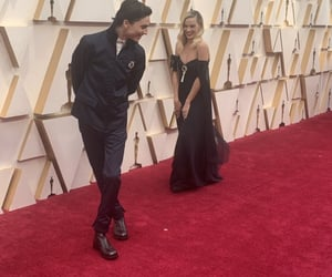 oscars, timothee chalamet, and margot robbie image