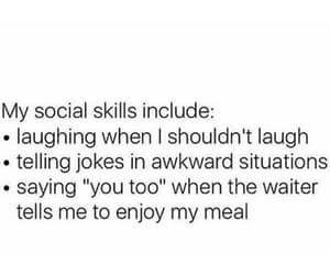 expressions, lmfao, and social skills image