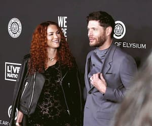 gif, Jensen Ackles, and danneel ackles image