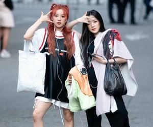 jeon soyeon, cho miyeon, and g-idle image