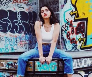 aesthetic, fashion, and grafitti image