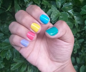 colorful, colorida, and nails image