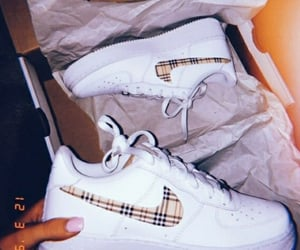 air force one, Burberry, and swoosh image
