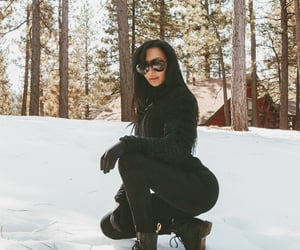 black, forest, and Hot image