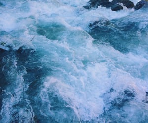 blue, aesthetic, and ocean image