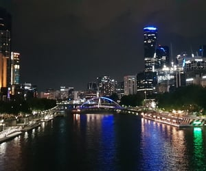 australia, city, and water image