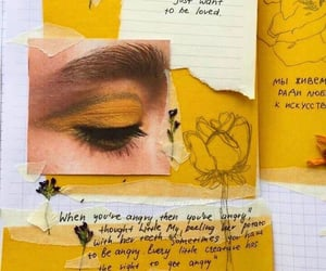 aesthetic, quote, and Collage image