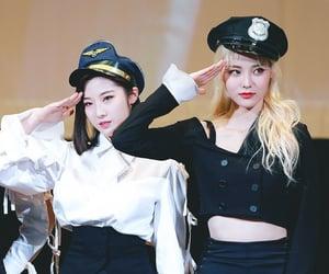 haseul, jinsoul, and jo haseul image