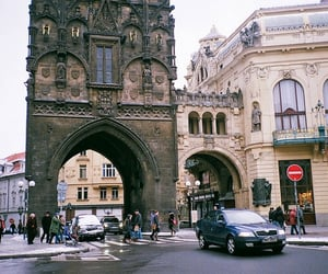 places, prague, and architecture image