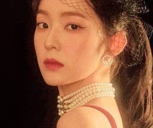 aesthetic, red, and red velvet image