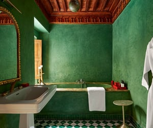 baby, moroccan, and bathroom image