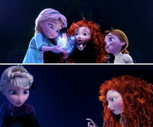 brave, frozen, and gif image
