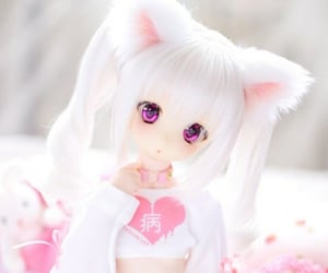 anime, bjd, and dollfie image