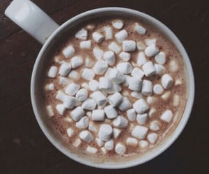 autumn, chocolate, and marshmallow image