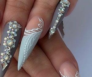 manos, manicura, and uñas image