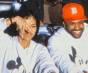 couples, jhene aiko, and big sean image