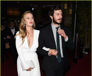 adam brody, leighton meester, and seth cohen image