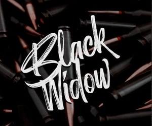 black widow, edit, and fandom image