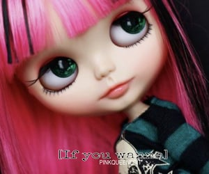 blythe doll, edit, and pinkqueen image