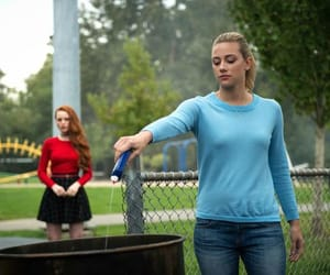 riverdale, lili reinhart, and betty copper image