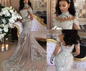 vestido de novia, luxury wedding dress, and robe de marriage image