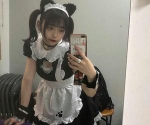 girl, かわいい, and メンヘラ image