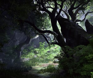 adventure, flora, and uncharted image