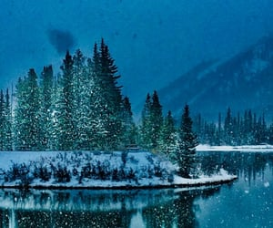 canada, landscape, and night image