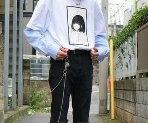 black pants, fashion, and style image