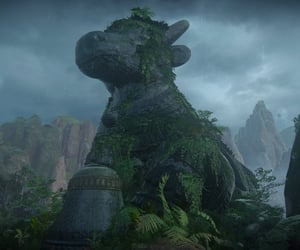 cow, overgrown, and uncharted image