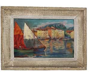 etsy, original art, and sea art image