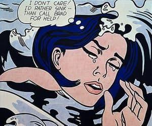 aesthetic, comic art, and pop art image