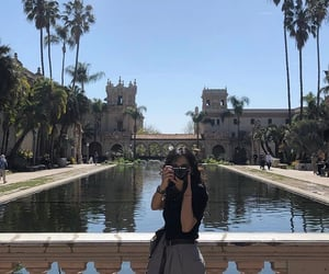 california, girl, and San Diego image