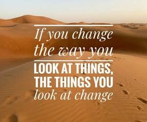 change, desert, and inspiration image