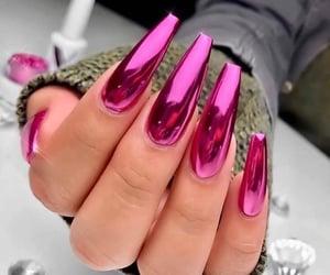 beauty, gloss, and nail style image