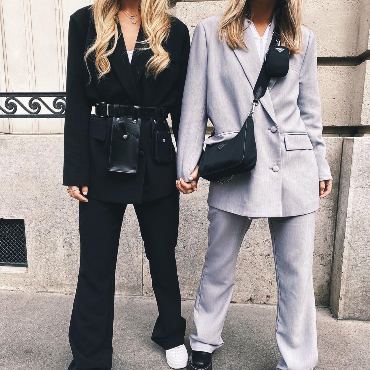 black, fashion, and friendship image