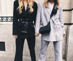black, fashion, and friendship image