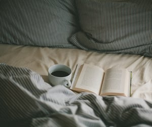 bed, morning, and photography image