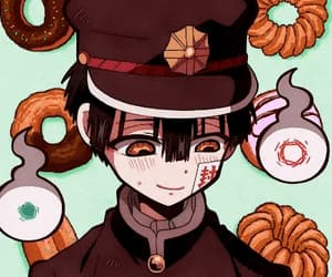 anime, hanako, and gif image