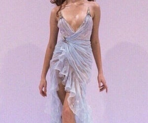 fashion, dress, and runway image